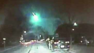 A Meteor That Streaked Above The U.S