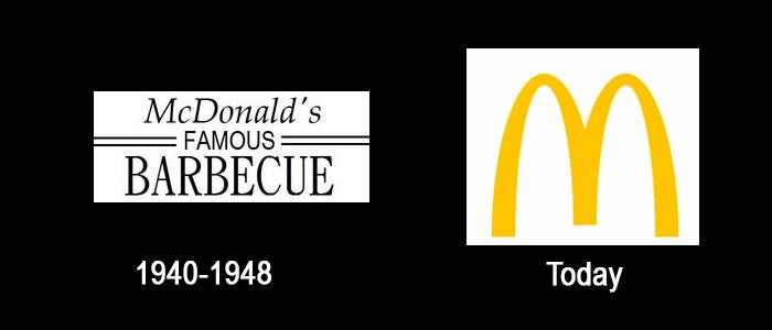 mcDo Logo Evolution