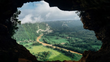 Mountain-River-Cave