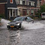 Driving Through A Flood