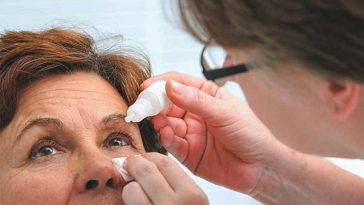 eye-drops treatment