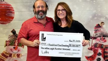 Couple in the U.S. wins Lottery Worth $1.8M Accidentally