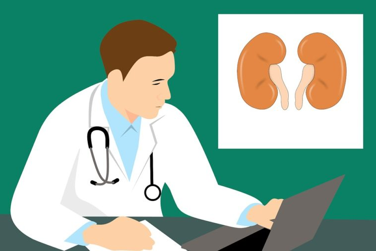Kidney infection sign