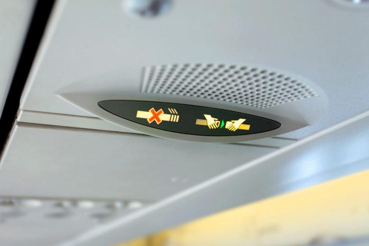 Secret Messages Pilots Send Using Seat Belt Signs