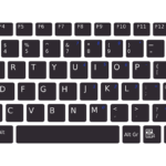 Functions of the F keys on a keyboard